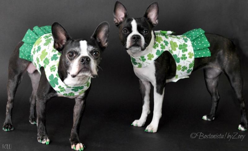 green-dresses