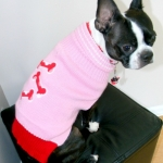 dog sweaters- pink-bone-sweater