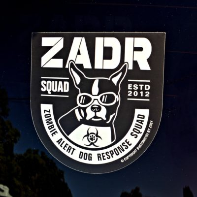 ZADR Squad decal