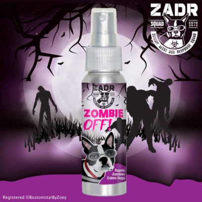 Zombie OFF! Essential Oils Spray